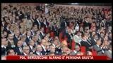 PDL, Berlusconi: Alfano è persona giusta