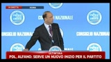 01/07/2011 - 4 - Nomina Alfano segretario PDL: governo ha ottenuto dei grandi risultati