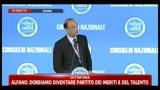 5 - Nomina Alfano segretario PDL: sinistra prigioniera di tre radicalismi