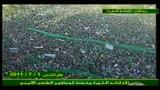 Nuovo messaggio di Gheddafi al popolo libico