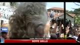 03/07/2011 - TAV, Grillo: è una guerra civile, siete degli eroi