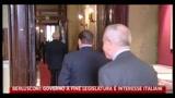 Berlusconi, Governo a fine legislatura è interesse degli italiani