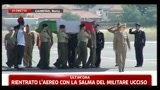 04/07/2011 - Militare ucciso, il cordoglio dei commilitoni