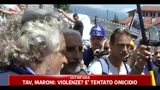 Proteste NO TAV, Beppe Grillo: eroe chi protesta pacificamente