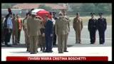04/07/2011 - Afghanistan, rientrata in Italia la salma di Gaetano Tuccillo