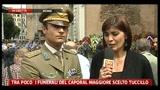 05/07/2011 - Funerali Tuccillo, parla il cap. Roberto Lotti