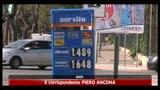 Caro carburanti: benzina a 1,64 euro, gasolio vicino a 1,50