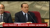 Caso Fininvest, Berlusconi: norma sacrosanta