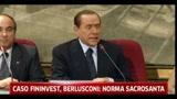 Caso Fininvest, Berlusconi: norma sacrosanta
