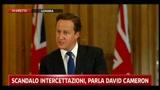1 - Intercettazioni, Cameron: serve sistema trasparente