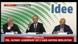 08/07/2011 - Alfano: sono convinto che Giulio Tremonti sia una persona per bene