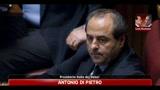 09/07/2011 - Lodo Mondadori, Di Pietro: contestare tentativi di coinvolgere la politica