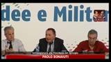 10/07/2011 - Bonaiuti, Berlusconi non parla, vuole evitare reazioni a caldo
