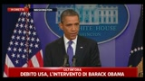 11/07/2011 - 1 - Debito USA, Obama:  il momento di affrontare il problema