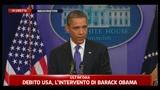 1 - Debito USA, Obama: è il momento di affrontare il problema