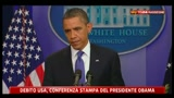 3 - Debito USA, Obama: non possiamo sederci e vedere fallire l'America