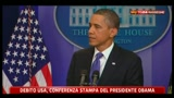 5 - Debito USA, Obama: migliorare situazione aziende che vogliono assumere