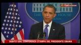 6 - Debito USA, Obama- bisogna rimboccarsi le maniche e lavorare insieme