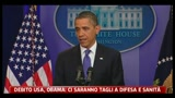 Debito USA, Obama: lavoriamo per piano economico subito efficace