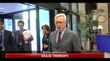 12/07/2011 - Tremonti, vado a Roma a chiudere il bilancio