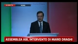 Draghi: essenziali riforme strutturali (intervento integrale)