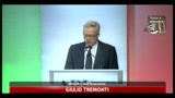 13/07/2011 - Tremonti: decreto pareggio bilancio sar rafforzato