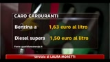 Record benzina, verde a 1,63 mentre il diesel sopra 1,5