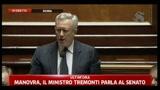 14/07/2011 - Manovra, Tremonti: serve visione alta sul futuro