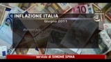 Istat: inflazione a giugno +2,7% annuo, +0,1% mensile