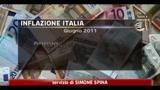 Istat: inflazione a giugno +2,7% annuo, +0,1% mensile
