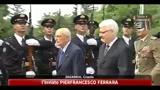 Il Presidente Napolitano in visita a Zagabria