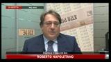 Scandalo intercettazioni, parla Roberto Napoletano