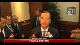 Frattini, la manovra è rassicurante e garantisce stabilità