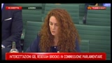 10 - Rebekah Brooks: nostra indagine comunicata alla Polizia