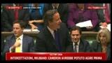 5 -  Cameron: basta con teorie di cospirazione