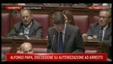 Discussione arresto Papa, Dario Franceschini