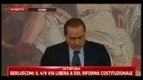 Berlusconi, con la Lega non c'è nessun problema