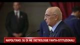 Costi politica, Napolitano, no a umori antidemocratici