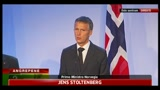 Norvegia, Stoltenberg: ancora presto per parlare di motivi del geso