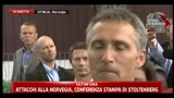 Stoltenberg: sono toccato profondamente da questa tragedia