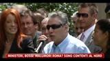 Ministeri, Bossi: malumori Roma?  Sono contetenti al nord