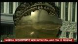 Nigeria, sequestrato mercantile italiano con 23 persone