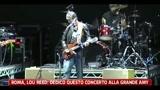 Roma, Lou Reed: dedico questo concerto alla grande Amy