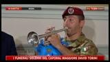 Funerali del Capor Maggiore Tobini, il silenzio