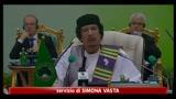 Libia, Gheddaffi: pronto al sacrificio per sconfiggere Nato