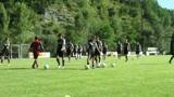 Cesena, torello in allenamento nel ritiro di Acquapartita