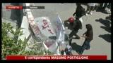 Chiomonte, sassaiola e lacrimogeni vicino cantiere TAV