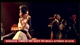 Winehouse, famiglia- Amy morta per brusca astinenza da alcol