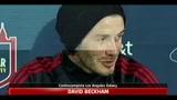 29/07/2011 - Beckham: io e Victoria vorremmo allargare ancora la famiglia