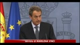 Crisi in Spagna, Zapatero annuncia elezioni anticipate